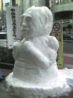 神田の雪まつり♪