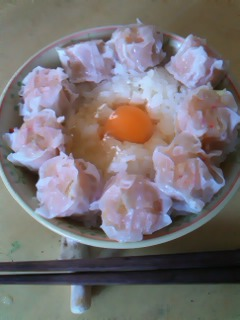 シュウマイ丼♪