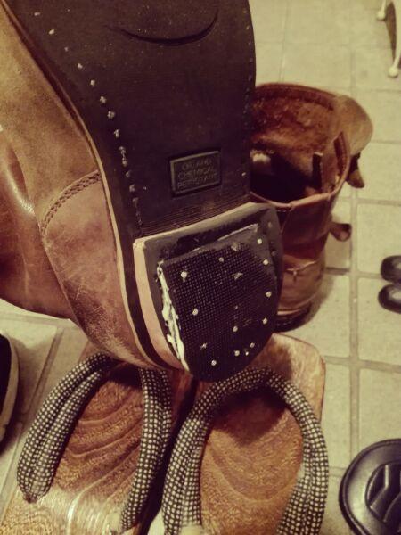 靴の修理♪